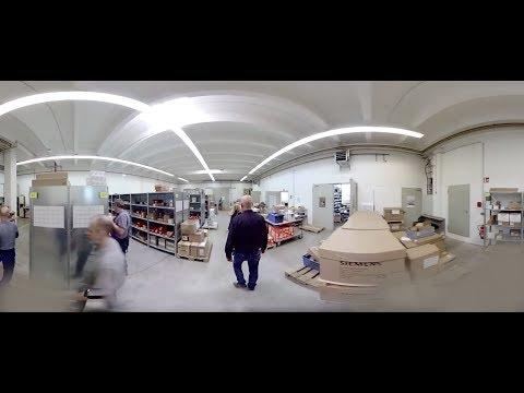 Virtueller 360Grad-Rundgang durch die HPS Werkstatt