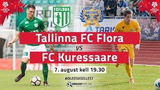 TALLINNA FC FLORA - FC KURESSAARE PREMIUM LIIGA 16. Voor