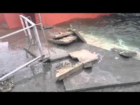 Esondazione, i danni al lungolago di Luino