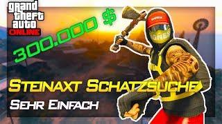 Stein Kriegsbeil + 300.000 $ Bekommen | Gta Schatzsuche Challenge | IRabbix