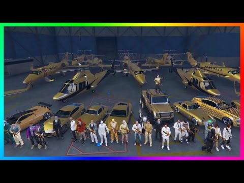 GTA ONLINE BILLIONAIRE'S CLUB SPECIAL - RARE GOLD VEHICLES, MEGA YACHT PARTY, CASINO TRIPS & MORE!