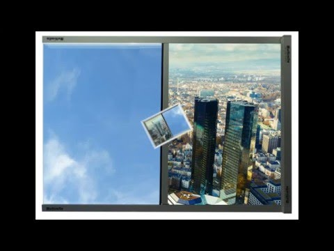 Sonnenschutz innen im Büro mit Blendschutz + Wärmeschutz ist Sonnenschutz Blendschutz + Sichtschutz