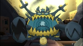 Guzzlord  - (Pokémon) - Pokemon Ultra Sun - Guzzlord Encounter in the Ultra Ruin (UB Glutton)