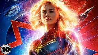Captain Marvel Official Trailer Explained