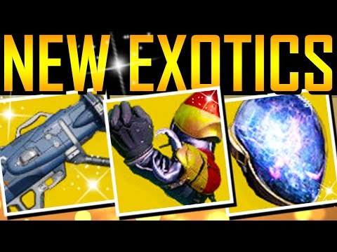 Destiny 2 - NEW EXOTICS! NEW EXOTIC QUESTS!