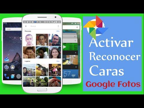 Cómo activar el reconocimiento Rostros en Google Fotos