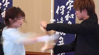 武田梨奈がまたも板割り披露!数日前に有吉反省会で反省したばかり