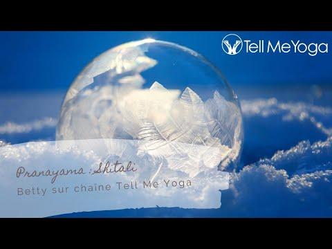 TellMeYoga - Pranayama - Shitali