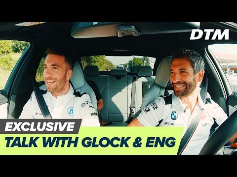 Join Timo Glock and Philipp Eng driving to the track #cartalk