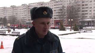 Сотрудники Солигорского ГРОЧС провели тактико-специальные занятия