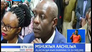 Mahakama Kuu ya Nyeri imemuachilia mshukiwa wa mauaji ya mwanawe baada ya kukanusha mashtaka hayo