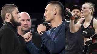 Макс Холлоуэй о бое с Хабибом и Тони Фергюсоном, новая чемпионка UFC