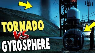 TORNADO vs GYROSPHERES! Unlocking Secret Dinosaurs! - Jurassic World Evolution Gameplay