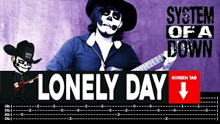 System Of A Down - Lonely Day (Guitar Cover By Masuka W/Tab)