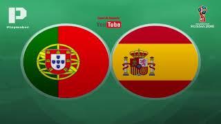 Portugal 3 x 3 Espanha TODOS OS GOLOS (Antena 1) Mundial 2018
