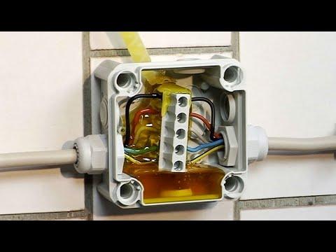 OBO Aquasit Vergussmasse  zum Nässeschutz bei langanhaltender Feuchtigkeit
