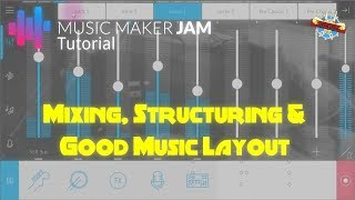 Music Maker Jam - How To Structure and Layout Your Song