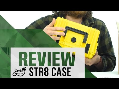 STR8 Case 10 Hard Top Storage Case with 2 Layer Protective Foam and Carrying Handle on Youtube