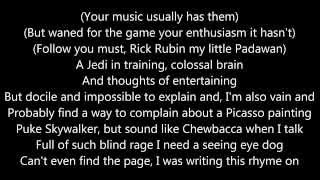 Eminem - Rhyme Or Reason (Lyrics)