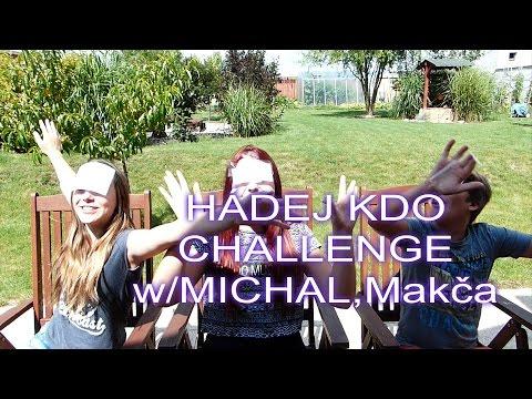 HÁDEJ KDO  CHALLENGE w/Michal,Makča......Kdo musel sníst nakonec česnek?!:D