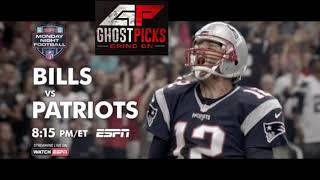 Monday Night Football Prediction Patriots vs Bills 10/29/2018