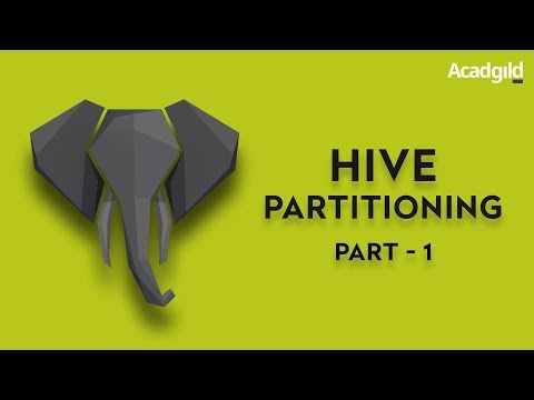 Hive Partition and Bucketing Part 1 | Hive Partition Tutorial | Hive Partition Table Example