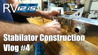 RV Aircraft Video - More work on the Stabilator Spar - Part 4