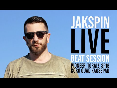 "Beat session ""Beat057"" on Pioneer Toraiz SP-16 & Korg Quad Kaosspad"