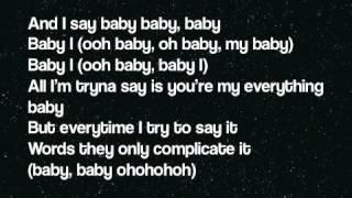 Ariana Grande - Baby I (Lyrics On Screen)