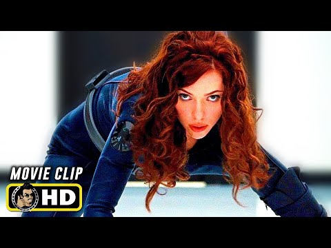 IRON MAN 2 (2010) Black Widow Fight Scene [HD] Scarlett Johansson