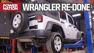 2WD Wrangler'ı 4WD'ye Dönüştürme - Truck Tech S2, E8