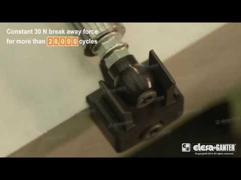 Industrial Machines Door Ball Shaped Door Lock