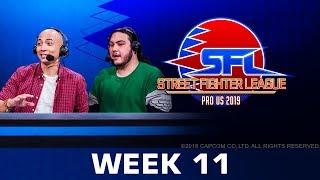 STREET FIGHTER LEAGUE: Pro-US 2019 - Week 11