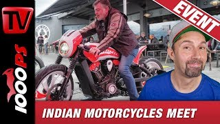 Indian Motorcycles Meet & Contest Schweiz - Ace Cafe Luzern