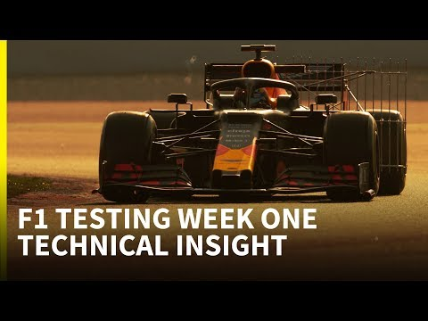 Nine tech developments spotted at F1 testing