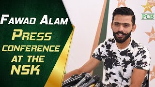 Fawad Alam Press Conference at the NSK | Pakistan vs Sri Lanka Test Series 2019