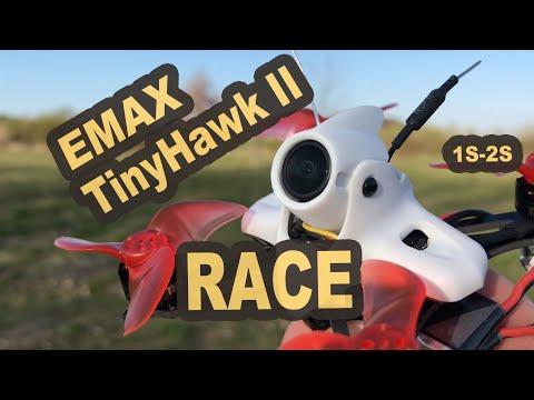 EMAX Tinyhawk II RACE 90mm 2S fliegt super