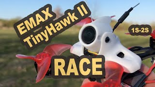 EMAX Tinyhawk II RACE 90mm 2S fliegt super
