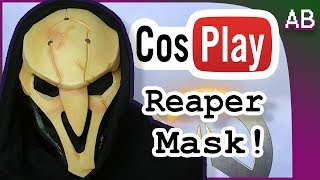 Painting Reaper Cosplay Mask Cosplay Tutorial - Overwatch Costume