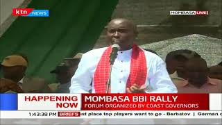 Rift Valley Governors address during  #MOMBASA BBI RALLY