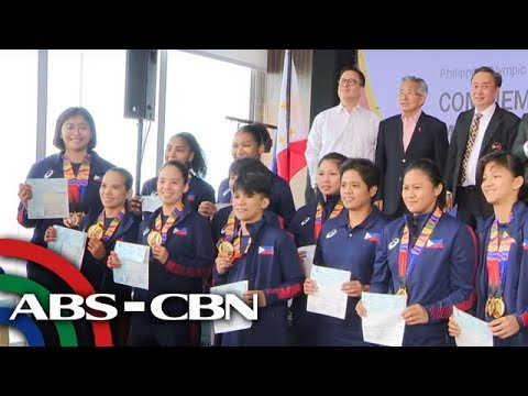 [ABS-CBN]  SEA Games athletes ibinahagi kung saan ilalaan ang nakuhang incentive   TV Patrol