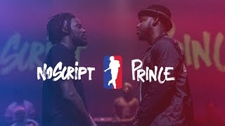 NO SCRIPT vs PRINCE | I LOVE THIS DANCE ALL STAR GAME 2016