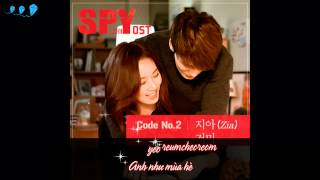 Vietsub SPY OST 2 Nowhere to go For SPY – Gummy