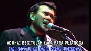 KATA PUJANGGA RHOMA IRAMA DANGDUT (Karaoke)