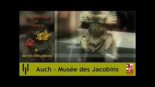 preview picture of video 'Le Musée des Jacobins (Auch) vise le niveau national'