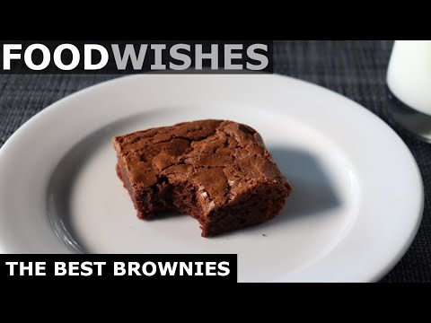 The Best Brownies – Food Wishes