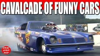 Funny Car Nostalgia Drag Racing Glory Days Maple Grove Raceway 2013