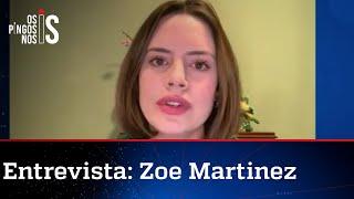 Zoe Martinez: 'O povo cansou do descaso da ditadura de Cuba'