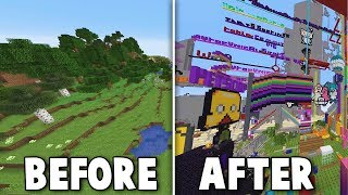 I Left My Fans Alone In A Minecraft Server For A Week
