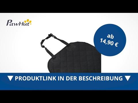 PawHut Auto Hundedecke Autositz Sitzbezüge Schutzdecke Vordersitzdecke - direkt kaufen!